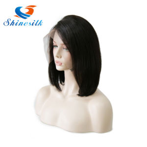 Staight Bob Wig Pre-Plucked Hand Made Lace Frontal Wig pictures & photos