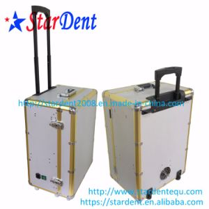 Ce and FDA Approved Portable Dental Unit with Air Compressor Chair pictures & photos