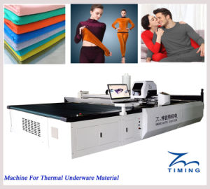 Tmcc2025 Automatic CNC Cloth Cutting Machine pictures & photos