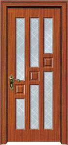 Office Wood Door with Glass (WX-PW-178) pictures & photos