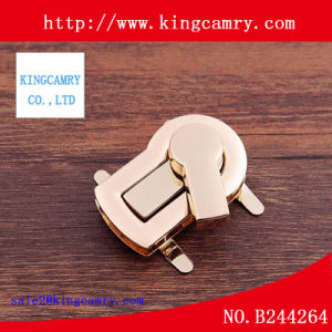 Manufacturer Custom Handbag Metal Bag Twist Lock Purse Turn Lock pictures & photos