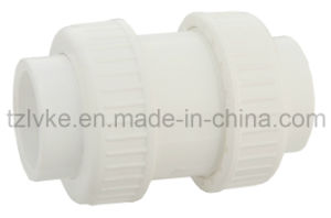 PVC Double Union Check Valve for Pool Swimming with ISO9001 pictures & photos