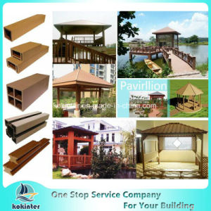 WPC Wood Composite Outdoor WPC Handrail Column pictures & photos