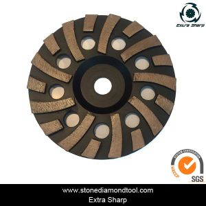 7inch Diamond Wheel/ Concrete Floor Grinding Disc pictures & photos