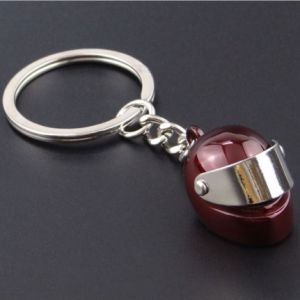 Custom Metal Motorcycle Helmet Keychain for Gift pictures & photos