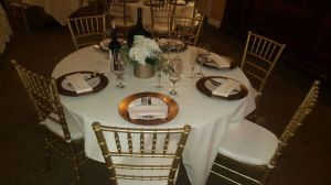 Resin Light Gold Chiavari Chair, Wedding Tiffany Chair for Events pictures & photos