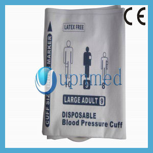 Disposable Large Adult NIBP Cuff, Single Tube, 34cm-43cm pictures & photos