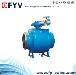 Fully Welded Body Cast Steel Ball Valve pictures & photos