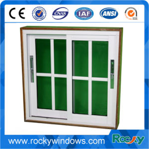 America Style Used Aluminum Single Tempered Glass Windows/ Aluminum Sliding Window and Door pictures & photos