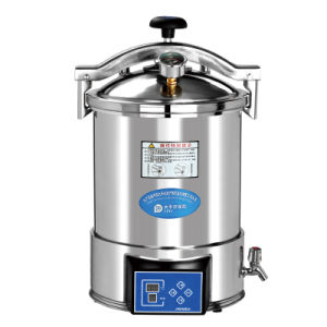 High Quality Portable Pressure Steam Sterilizer with CE &ISO pictures & photos