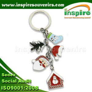 Christmas Charms Keychain for Souvenir (KC128) pictures & photos