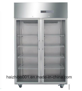 1000L Big Capacity Upright Style Medical Refrigerator (HEPO-U1000) pictures & photos
