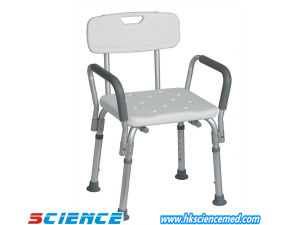 Aluminum Shower Chair with Armrest (SC-SC13(A)) pictures & photos