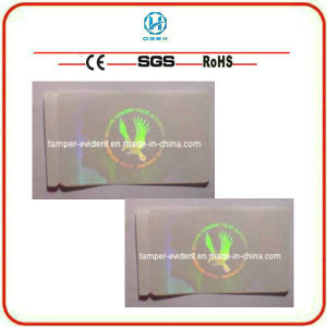 Transparent Void Security Label Sticker (zx146)