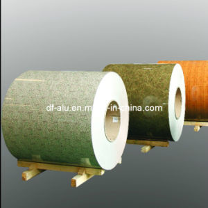 Wooden Coated Aluminum Coil for Roller Shutters, Curtain Wall