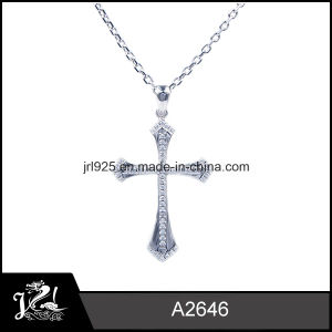 925 Silver Pendant Silver Pendant with Micro Pave CZ Stones
