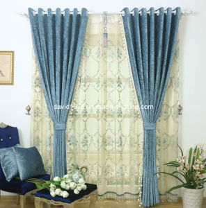 Thermal Insulated Luxury Chenille Grommet Panel/Curtain (SZSMECP001)