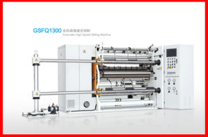 BOPP, CPP, Pet, Paper Automatic High Speed Slitting Machine (400m/min) pictures & photos