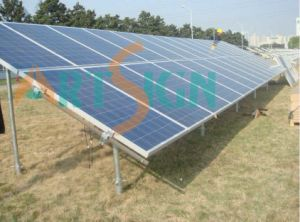 Solar Mounting System with Ground Screw-02 pictures & photos