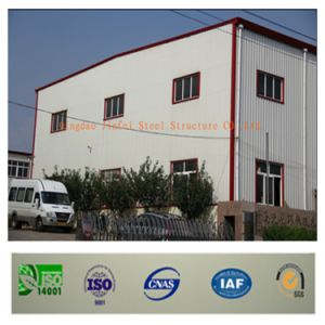 Light Steel Structure Warehouse Fabrication with SGS