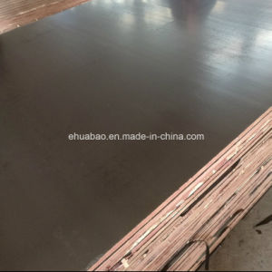 WBP Glue Waterproof Plywood Poplar Core Brown Film pictures & photos