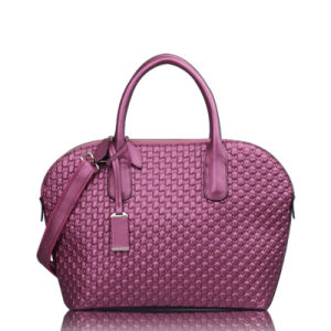 Famous Style Embossing Purple Brand Bag for Woman (XD140146)