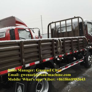 Sinotruk HOWO 4X2 7 Ton Cargo Truck with Cummins Engine pictures & photos