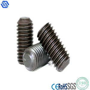 Carbon Steel Zinc Plated Stud Bolt Set Screw (DIN913) pictures & photos