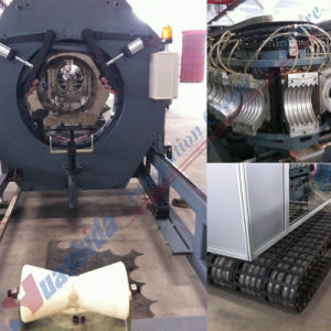 PE Double Wall Corrugated Pipe Extrusion Line (DWCP-500) pictures & photos