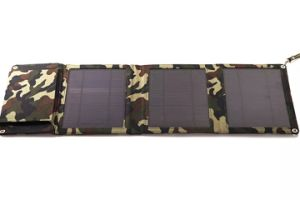 Portable Solar Power Travel Mobile Phone Foldable Charger Only Need Sunlight pictures & photos