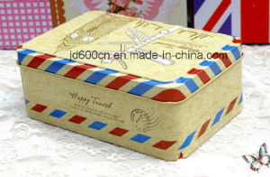 Delicate Wedding Tin Box Customized Accept pictures & photos