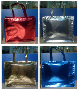 Metallic Color Tote Bag (PM014) pictures & photos