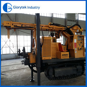 400c Multi-Functional Crawler Type Water Well Drill Rig From China pictures & photos