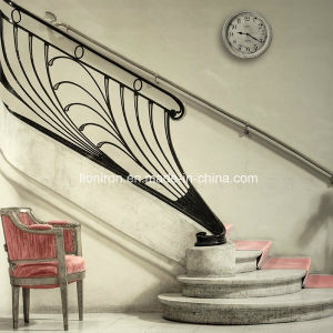 High Quality Modern Iron Stair Railing Design for Private House pictures & photos