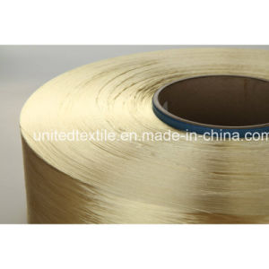 100% Polyester Dope-Dyed Filament Yarn for 450d/192f Round Bright FDY pictures & photos