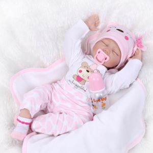 NPK Doll Reborn Baby Dolls Bebe Reborn Babies Sleeping Girl Kids Christmas Gift for Girls Soft Handmade Factory Dropshipping