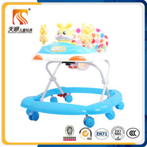 Wholesale Good Quality Plastic and Polyester Baby Walker Seat pictures & photos