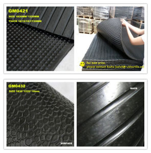 2m*1m Dairy Cow Rubber Mat, Custom Rubber Mat pictures & photos