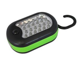 27 LED Work Hand Inspection Light Cordless Magnetic Lamp Flashlight Green
