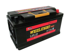 12V100ah Storage Battery with DIN Standard pictures & photos