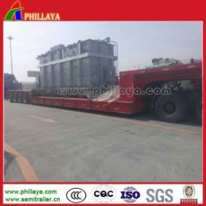 4 Line 8 Axle 150 Tons Low Loader Trailer pictures & photos