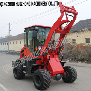 Hot Sale 1t Mini Tractor Mini Wheel Loader Hzm 910/Zl10 in Europe pictures & photos