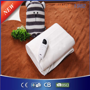 Ce/GS/RoHS/BSCI Approval Automatic Timer Electric Blanket pictures & photos