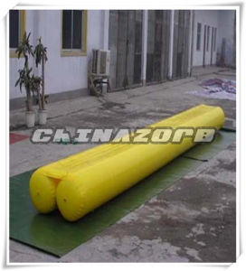 Yellow Inflatable Balance Beam Inflatable Floating Tube Factory Cost pictures & photos