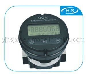 Ogm Multipurpose Aluminum Oval Gear Flow Meter with Electronic Register