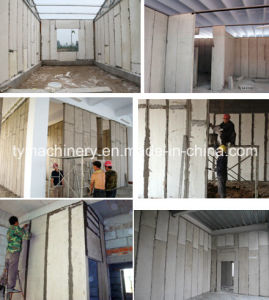 Gypsum Wall Panel/Board Making Machine/ Equipment pictures & photos