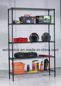 Metal Powder Coating Wire Shelving Rack 500lbs Per Shelf pictures & photos