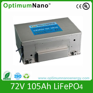 76V 105ah LiFePO4 Battery for Electric Car pictures & photos