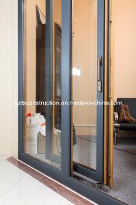 Wooden Tilt-Sliding Door with Aluminum Cladding pictures & photos