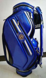 OEM Golf Bag Professional PU Blue CB610 Caddie Golf Bag pictures & photos